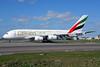 Emirates Airline Airbus A380-861 A6-EDH (msn 025) (Expo 2020 Dubai UAE) AMS (Ton Jochems). Image: 912485.