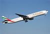 Emirates Airline Boeing 777-31H ER A6-EGR (msn 41077) PAE (Nick Dean). Image: 909325.
