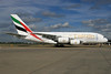 Emirates Airline Airbus A380-861 A6-EOJ (msn 182) (Expo 2020 Dubai UAE) LHR (SPA). Image: 933976.