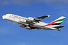 Emirates Airline Airbus A380-861 A6-EDI (msn 028) (Expo 2020 Dubai UAE) LHR (SPA). Image: 926046.
