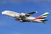 Emirates Airline Airbus A380-861 A6-EDI (msn 028) (Expo 2020 Dubai UAE) LHR (SPA). Image: 926046.