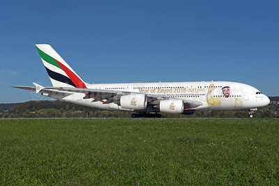 """Year of Zayed 2018"" special livery"