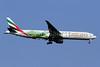 Emirates Airline Boeing 777-31H ER A6-EGE (msn 35597) (FIFA World Cup Brazil 204 - Pelé) IAD (Brian McDonough). Image: 923840.