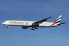 Emirates Airline Boeing 777-31H A6-EMM (msn 29062) LHR (Keith Burton). Image: 900352.