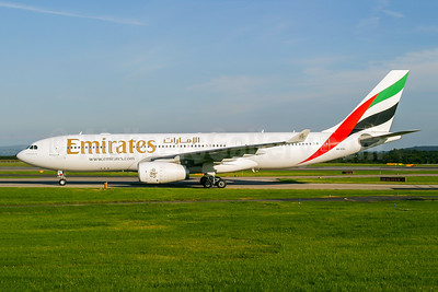 Emirates Airline Airbus A330-243 A6-EAL (msn 462) MAN (Wingnut). Image: 944351.