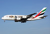 "Emirates' first ""United for Wildlife"" A380 logo jet"
