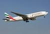 Emirates Airline Boeing 777-21H LR A6-EWJ (msn 35590) ZRH (Andi Hiltl). Image: 910865.