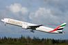 Emirates Airline Boeing 777-31H ER N5017V (A6-EGA) (msn 38984) PAE (Nick Dean). Image: 904780.