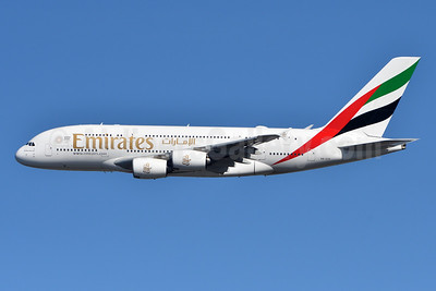 Emirates Airline Airbus A380-861 A6-EUK (msn 223) JFK (Fred Freketic). Image: 944353.