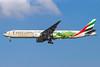 "Emirates special ""FIFA World Cup Brazil 204 - Pelé"" logo jet"