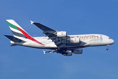 Emirates Airline Airbus A380-861 A6-EOV (msn 206) (Expo 2020 Dubai UAE) BKK (Michael B. Ing). Image: 937013.