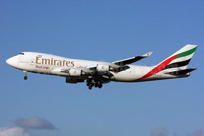Emirates SkyCargo (Emirates Airline) (TNT Airways) Boeing 747-4HAF OO-THD (msn 35236) LHR (SPA). Image: 925078.