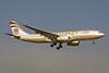 Etihad Airways Airbus A330-243 A6-EYO (msn 852) LHR (Keith Burton). Image: 901474.