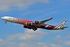 Etihad Airways Airbus A340-642 A6-EHJ (msn 933) (Abu Dhabi Grand Prix 2010 Formula 1) LHR (Karl Cornil). Image: 905179.