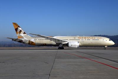 Etihad Airways Boeing 787-9 Dreamliner A6-BLB (msn 39647) ZRH (Rolf Wallner). Image: 937000.