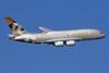 Etihad Airways Airbus A380-861 A6-APA (msn 166) LHR (SPA). Image: 929384.