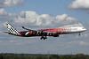 Etihad Airways Airbus A340-642 A6-EHJ (msn 933) (Abu Dhabi Grand Prix 2009 Formula 1) LHR (Michael B. Ing). Image: 902822.