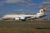 Etihad Airways Airbus A380-861 A6-APA (msn 166) LHR. Image: 926504.