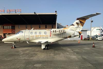 Etihad Flight College (Etihad Airways) Embraer EMB-500 Phenom 100E A6-EFC (msn 50000369) SJU (Raul Sepulveda)