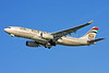Etihad Airways Airbus A330-243 A6-EYL (msn 809) LHR (Keith Burton). Image: 902332.