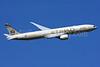 Etihad Airways Boeing 777-3FX ER A6-ETN (msn 39687) (Abu Dhabi Grand Prix 2014 Formula 1) LHR (SPA). Image: 924589.