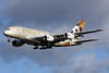 Etihad Airways Airbus A380-861 A6-API (msn 233) (Louvre Abu Dhabi) LHR (SPA). Image: 940639.