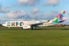 Etihad-Alitalia's Expo Milano 2015 A330 logo jet, Best Seller