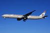 Etihad Airways Boeing 777-3FX ER A6-ETO (msn 39690) (Abu Dhabi Grand Prix 2014 Formula 1) LHR (SPA). Image: 924365.