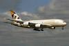 Etihad Airways Airbus A380-861 A6-APC (msn 176) LHR (SPA). Image: 929417.