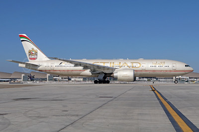 Etihad Airways (Air India) Boeing 777-237 LR A6-LRE (msn 36304) LAX. Image: 933813.