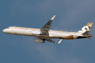 Etihad Airways Airbus A321-231 WL A6-AEE (msn 6534) AUH (Bailey). Image: 931317.