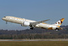Etihad's first Boeing 787-9, delivered December 31, 2014