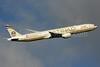 Etihad Airways Boeing 777-3FX ER A6-ETL (msn 39687)  (Abu Dhabi Grand Prix 2014 Formula 1) LHR (SPA). Image: 926503.