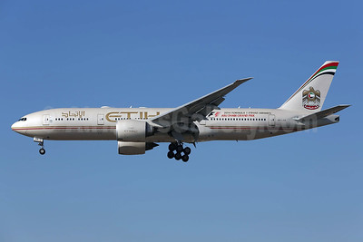 Etihad Airways (Air India) Boeing 777-237 LR A6-LRB (msn 36301) LAX (James Helbock). Image: 925317.