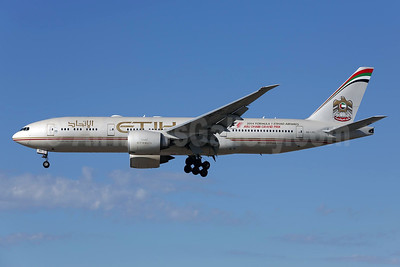 Etihad Airways (Air India) Boeing 777-237 LR A6-LRC (msn 36302) LAX (James Helbock). Image: 925319.