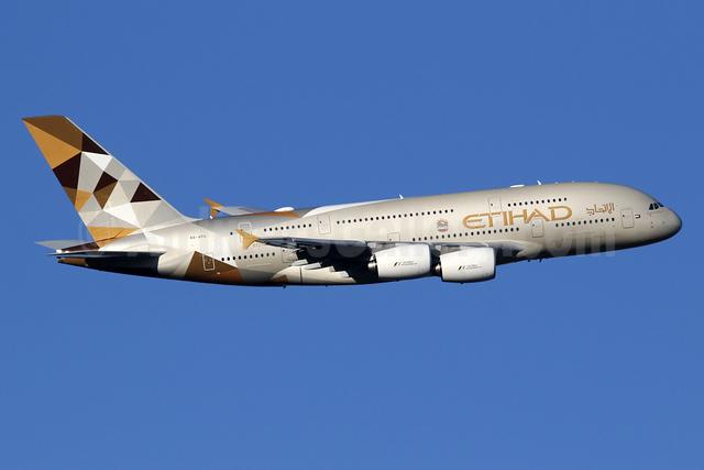 Etihad Airways Airbus A380-861 A6-APG (msn 198) LHR (SPA). Image: 935860.
