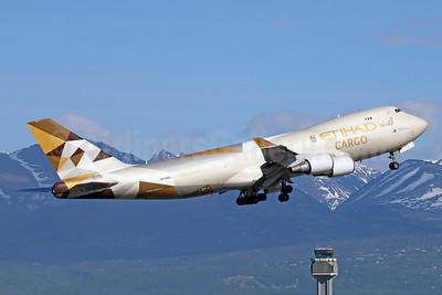 Etihad Airways Cargo (Etihad AIrways)-Atlas Air Boeing 747-47UF N476MC (msn 29256) ANC (Michael B. Ing). Image: 927613.