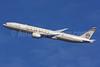 Etihad Airways Boeing 777-3FX ER A6-ETL (msn 39687)  (Abu Dhabi Grand Prix Formula 1) LHR (SPA). Image: 924588.