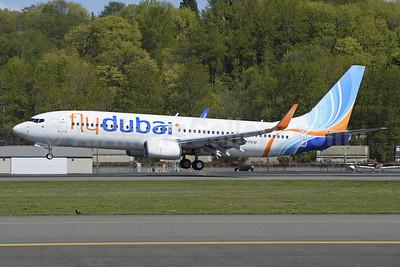 Flydubai Boeing 737-8KN WL A6-FEW (msn 40276) BFI (Steve Bailey). Image: 927195.