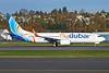 Flydubai Boeing 737-8KN WL A6-FDL (msn 40239) BFI (Joe G. Walker). Image: 922725.