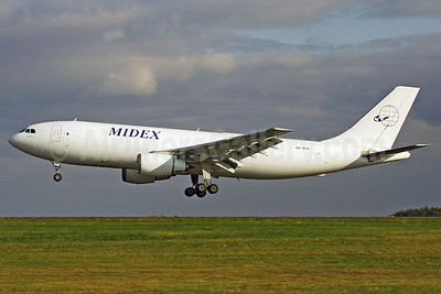 Midex Airlines Airbus A300B4-203 (F) A6-MDA (msn 157) HHN (Rainer Bexten). Image: 903884.