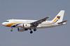 """RAK Airways """"Airways International"""" (BH Air) Airbus A319-112 LZ-AOA (msn 3139) (MAI colors) RKT (Paul Denton). Image: 913862."""