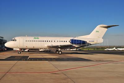 SKA International Group - SKA Air and Logistics - Skylink Arabia Fokker F.28 Mk. 4000 ZS-MAD (msn 11225) JNB (Ton Jochems). Image: 945976.