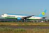 Uzbekistan Airways Boeing 767-33P ER UK67005 (msn 40533) ZRH (Andi Hiltl). Image: 933867.