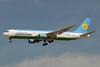 Uzbekistan Airways Boeing 767-33P ER UK67002 (msn 28392) DXB (Paul Denton). Image: 911637.