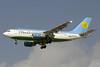 Uzbekistan Airways Airbus A310-324 UK31003 (msn 706) DXB (Paul Denton). Image: 911639.