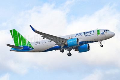 Bamboo Airways Airbus A320-251N WL F-WWIU (VN-A596) (msn 9306) TLS (Eurospot). Image: 948011.