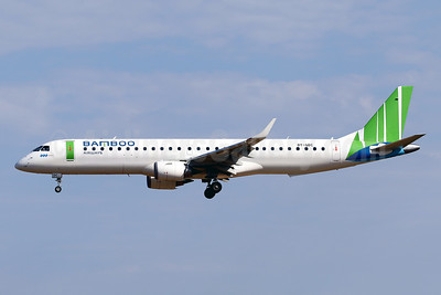 Bamboo leases two Embraer 195s from Great Dane Airlines