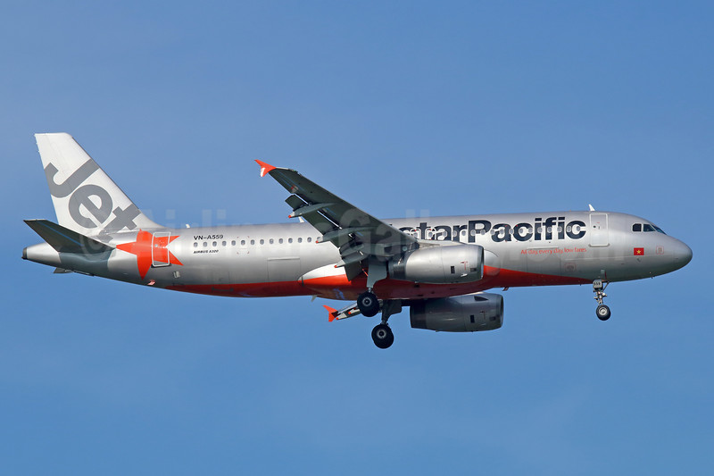 Jetstar pacific airlines bruce drum airlinersgallery airline color scheme introduced 2008 sciox Images