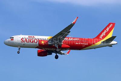 "VietJetAir's 2015 ""Bia Saigon"" special livery"
